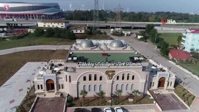 Tekkeköy'den 5 yıldızlı hamam hizmeti