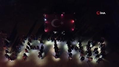 Öğrencilerden Barış Pınarı Harekâtı'na destek