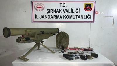 Şırnak'ta saldırı hazırlığındaki PKK'lı terörist etkisiz hale getirildi