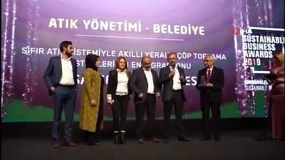 evrese -  Başakşehir Belediyesi'ne 'Atık Yönetimi' ödülü