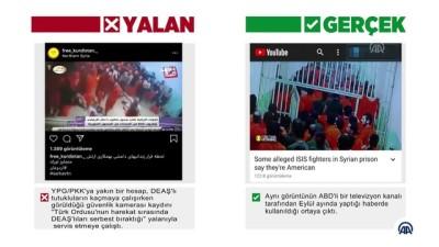 televizyon - GERÇEK/YALAN - Barış Pınarı Harekatı aleyhine manipülasyon çabası