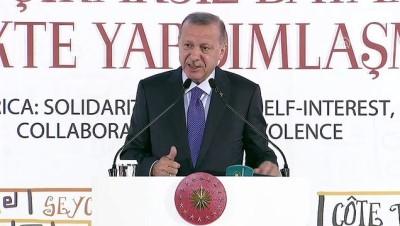 Cumhurbaşkanı Erdoğan: 'Aramızda çizilen yapay sınırlar ufkumuzu belirleyemez' - İSTANBUL