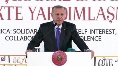 Cumhurbaşkanı Erdoğan: 'Uluslararası medya kuruluşları yanlı yanlış haberlerle kamuoyunu İslamdan soğutmaya çalışıyor' - İSTANBUL