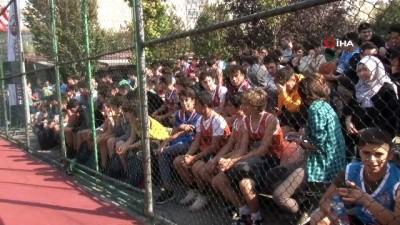 Fatih'te 3x3 Sokak Basketbolu Turnuvası başladı