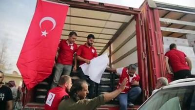 Kızılay'dan Tel Abyad'daki sivillere insani yardım - TEL ABYAD