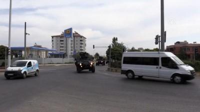 Suriye sınırına sevkiyat - KİLİS