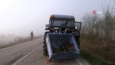 Yoğun sis nedeniyle gerçekleşen kazada 1 kişi hayatını kaybetti
