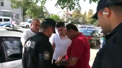 Yol kavgasından kaçan baba oğul Aksaray'da polise sığındı