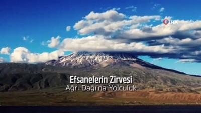 """televizyon -  """"Ağrı Dağı'na Yolculuk"""" belgeseli yapıldı"""