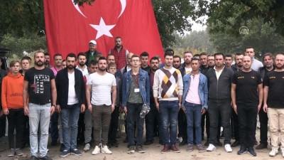 Otomobil tutkunlarından Barış Pınarı Harekatı'na destek - KIRKLARELİ