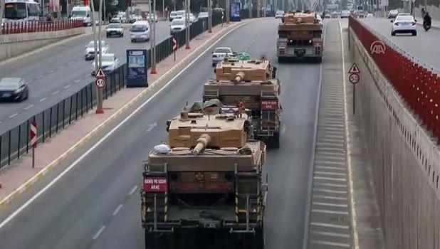 askeri birlik - Suriye sınırına askeri sevkiyat - ŞANLIURFA