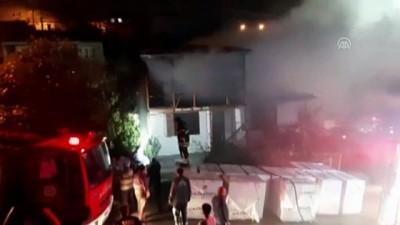 Kayınpeder gelininin evini yaktı - KOCAELİ
