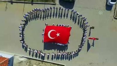 rehber ogretmen - Öğretmen ve öğrencilerden Barış Pınarı Harekatı'na destek - MANİSA