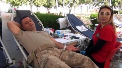 Barış Pınarı Harekatı'na kan bağışıyla destek - MARDİN