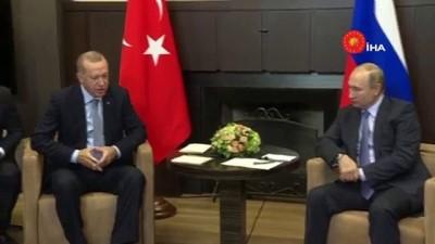 """- Cumhurbaşkanı Erdoğan: """"Bu Görüşmenin Barış Pınarı Harekatı'na Çok Ciddi Fırsatlar Sağlayacağına İnanıyorum"""""""