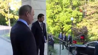 """- Cumhurbaşkanı Erdoğan: """"Bu görüşmenin Barış Pınarı Harekatı'na çok ciddi fırsatlar sağlayacağına inanıyorum"""""""