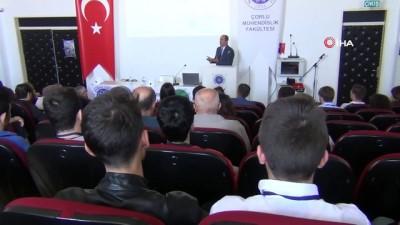 konferans -  Japon deprem uzmanı Türkiye'de beklenen büyük depreme ilişkin açıklamalarda bulundu