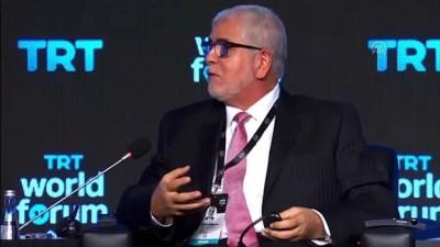 TRT World Forum 2019 - Mustafa A.G. Abushagur ve Maha Azzam - İSTANBUL