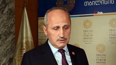 """- Ulaştırma Bakanı Turhan: 'Türkiye'de Gürcistan'la ticaretini her yıl artırıyor"""""""