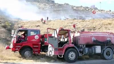 Ormanlık alanda yangın çıktı, 100 dönümlük arazi küle döndü