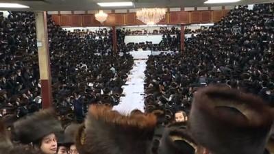 Satmar Yahudileri Sukkot bayramını kutladı - NEW YORK