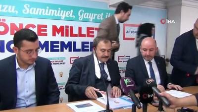 """Afyon Milletvekili Veysel Eroğlu: """"DEAŞ ile en büyük mücadeleyi veren ülke Türkiye"""""""