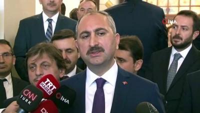 """Bakan Gül: """"Vatandaşımızın yargıya güveni artacak"""""""