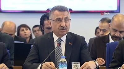 Cumhurbaşkanı Yardımcısı Oktay: 'Yerel yönetimlere verdiğimiz bu önem doğrultusunda iktidarımız döneminde yerel yönetimlere bütçeden ayrılan kaynak miktarı da artırılmıştır'