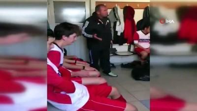 Futbolcularını tokatlayan antrenör İHA'ya konuştu