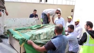 evrese - İmam Abdullah'ın müzede korunan naaşı yeni yerine nakledildi - BATMAN