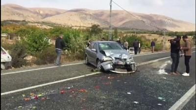 Trafik kazası: 1 ölü, 3 yaralı - ELAZIĞ