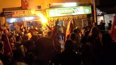 Denizli'de 'Fener Alayı' yürüyüşüne binlerce vatandaş katıldı