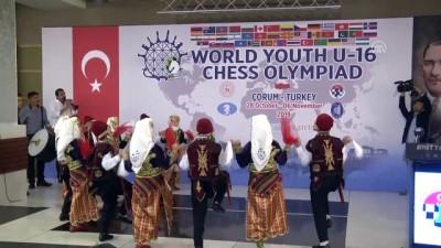 Dünya 16 Yaş Altı Satranç Olimpiyatları başladı - ÇORUM