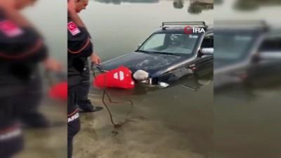 Adrenalin tutkunu gencin 'off road'u Meriç'in serin sularında bitti