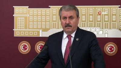 BBP Genel Başkanı Destici: ''ABD bunu bir sopa olarak kullanıyor, büyük bir ahlaksızlık yapıyorlar'