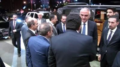 Kültür ve Turizm Bakanı Mehmet Nuri Ersoy Rize'de