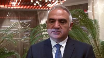 """Kültür ve Turizm Bakanı Mehmet Nuri Ersoy: """"Rize'nin en büyük problemlerinden biri, turist profilindeki çeşit azlığı"""""""