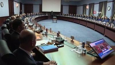 Cumhurbaşkanı Erdoğan, AK Parti Büyükşehir ve İl Belediye Başkanları ile bir araya geldi