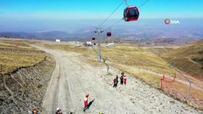 kurtarma tatbikati -  Erciyes'te nefes kesen kurtarma tatbikatı