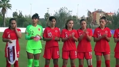 Futbol: 19 Yaş Altı Kadınlar Avrupa Şampiyonası Eleme Turu - ANTALYA