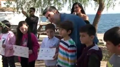 Kartallı küçük denizciler sertifikalarını aldı