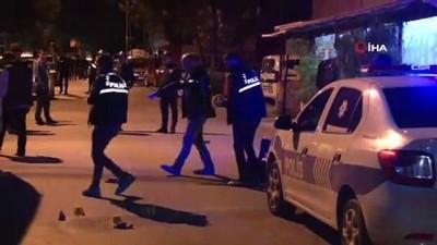 emniyet seridi -  Maltepe'de silahlı çatışma: 1 yaralı
