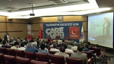 Saadet Partisi İl Divan Toplantısı - TEKİRDAĞ