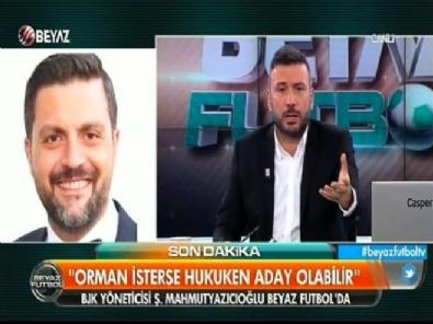 Şafak Mahmutyazıcıoğlu Beyaz Futbol'da soruları yanıtladı