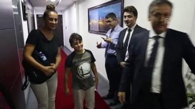 haziran ayi - Kaçırılan oğluna Erbil'de kavuştu