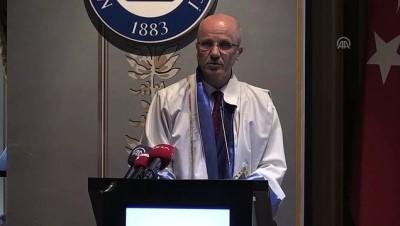 Marmara Üniversitesi akademik yıl açılışı - Marmara Üniversitesi Rektörü Prof. Dr. Özvar - İSTANBUL
