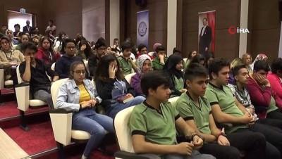 zihinsel gelisim -  Anadolu Mektebi'nde 2 bin 500 öğrenci Necip Fazıl Kısakürek'i tanıdı