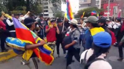 - Ekvador Devlet Başkanı Moreno protestolar nedeniyle ülkenin başkentini taşıdı