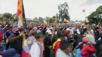 - Ekvador'da sokağa çıkma yasağı ilan edildi - Göstericiler Ulusal Meclis binasını işgal etti
