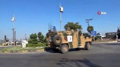 askeri birlik -  Komandolara Türk Bayraklı destek